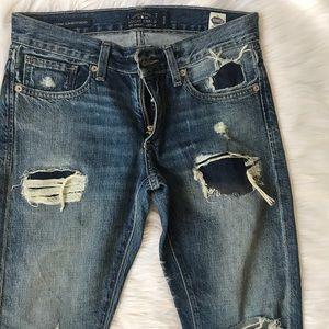 Lucky Brand Sienna Boyfriend Jeans.  Size 24